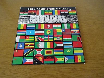 Bob Marley And The Wailers Survival L37050 Ilps 9542 Lp