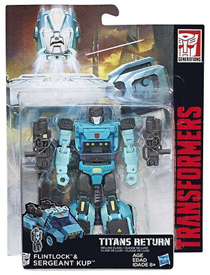 Transformers Titans Return Deluxe Class Autobot Sergeant Kup