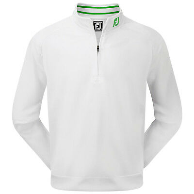 Footjoy Mens Brushed Pique Half Zip Pullover Top Fj Prodry Sweater Jumper 2016