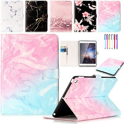 Magnetic Patterned Leather Wallet Stand Case Cover For iPad 9.7 2017/Air 2/Mini