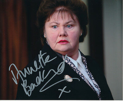 Annette Badland In Person Signed Photo - All the Small Things - AG376