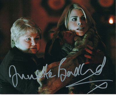Annette Badland In Person Signed Photo - Doctor Who - AG390