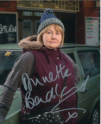 Annette Badland In Person Signed Photo - EastEnders - AG392