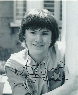 Matthew Waterhouse In Person Signed Photo - Doctor Who - AG289
