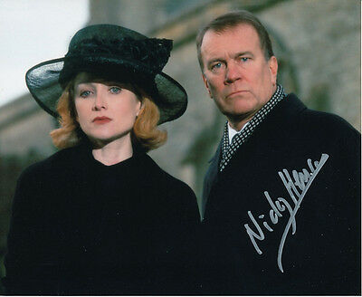 Nicky Henson In Person Signed Photo - Midsomer Murders - AG327