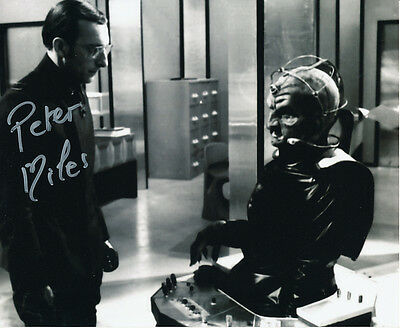 Peter Miles In Person Signed Photo - Doctor Who - AG324