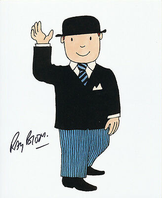 Ray Brooks In Person Signed Photo - Mr. Benn - AG320