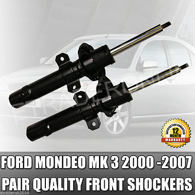 FORD MONDEO MK3 FRONT X2 SHOCK ABSORBER STRUT PAIR 2000/>2007 *BRAND NEW*