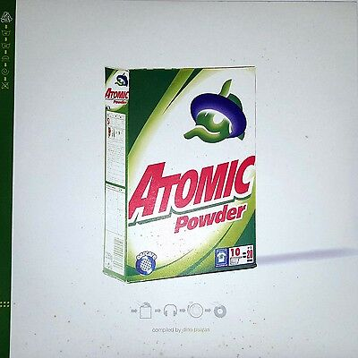 Various Artists - Atomic Powder 2 X Vinyl LP 2001 Atomic Records PsyTrance New