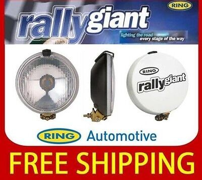 Round Car Spot Fog  lights Ring Rally Giant Lamps Including Covers RL030C Giants