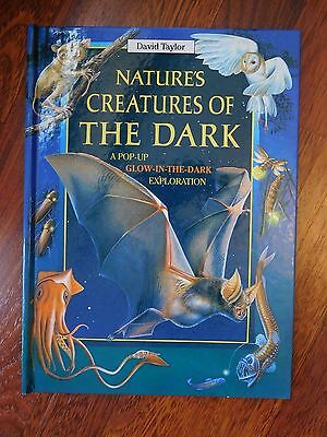 Nature's Creatures of the Dark Pop Up Book by David Taylor