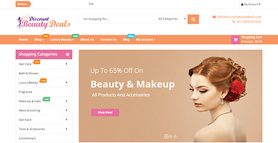 BEAUTY Profitable Affiliate Dropship STORE Turnkey BUSINESS Website For Sale