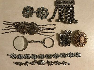 Clearance Mixed Vintage Jewellery Findings Repurpose Repair Upcycle Craft Lot