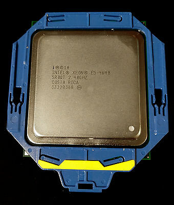 Intel Xeon E5-4640 SR0QT Eight Core 2.40GHz 20MB Cache LGA2011 Processor CPU