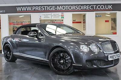 2009 Bentley Continental 6.0 Speed W12 GTC 2dr