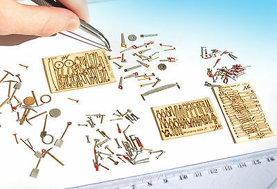 Miniature Tools Mega set, KIT O HO scale model railway diorama scenery 1:87 43