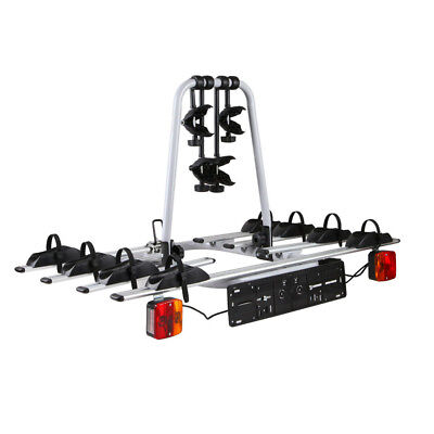NEW Bicycle Bike Carrier Rack with Tow Ball Mount