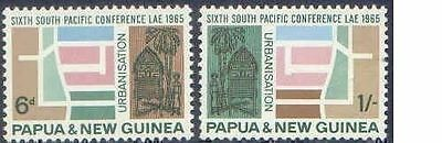 Papua New Guinea 1965 SOUTH PACIFIC CONFERENCE (2) Unhinged Mint SG77-8
