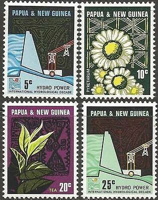 Papua New Guinea 1967 INDUSTRIES Set(4) Unhinged Mint SG 113-6