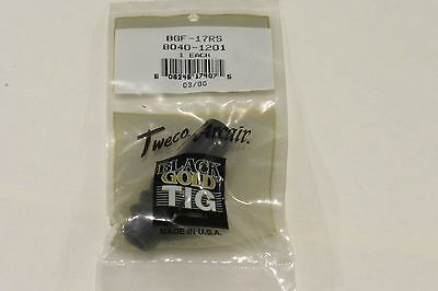 New TWECO ARCAIR BGF-17RS, 8040-1201 Black Gold Tig Free Shipping!