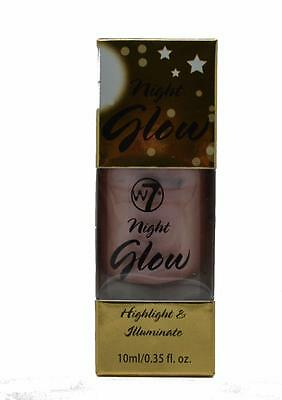 W7 Night Glow Highlight and Illuminate Shimmer Blush Face Definer Contouring