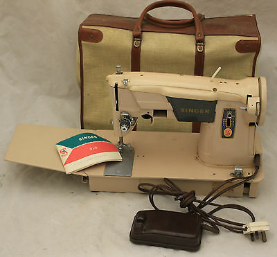 SINGER Heavy Duty 315 Electric Sewing Machine with Case - 250