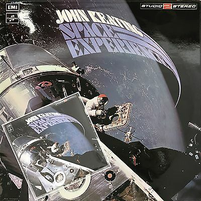 John Keating - Space Experience Vinyl LP + CD transfer project