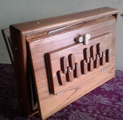 Shruti Box~Swar Peti~Bhajan~ Sur Peti Teak Wood Drone Sound C To C Note