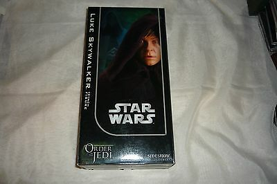 "2006 Sideshow 1/6 Scale Luke Skywalker Order of The Jedi 12"" Action Figure MIB"