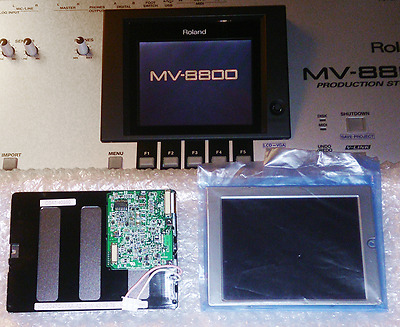 Roland MV 8800 Ecran LCD de Remplacement Neuf New MV-8800 Screen Display Parts