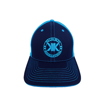 Miken Koalition Hat by Pacific 404M KO/BLACK/ELECTRIC BLUE YOUTH (6 3/8- 6 7/8)