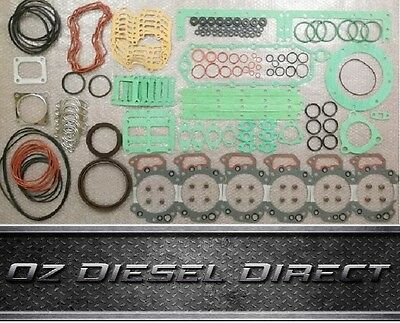 6D125 S6D125 SA6D125 New Complete Full Gasket Kit for Komatsu PC300-3 PC400-3