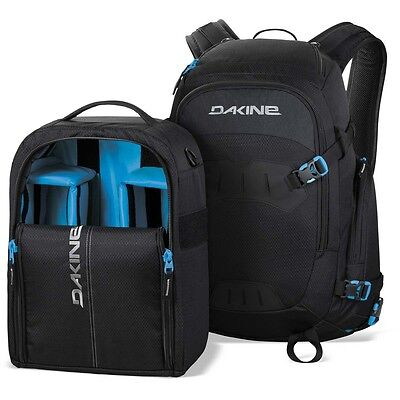 New Dakine Sequence Photo Camera Backpack, 33 L, Tabor Black