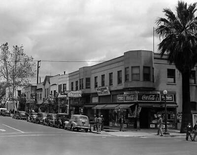 """1942 Fourth and Capitol Streets, Sacramento, CA Vintage Photograph 8.5"""" x 11"""""""