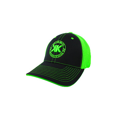 Miken Koalition Hat by Pacific (404M) KO/BLACK/NEON GREEN YOUTH (6 3/8- 6 7/8)