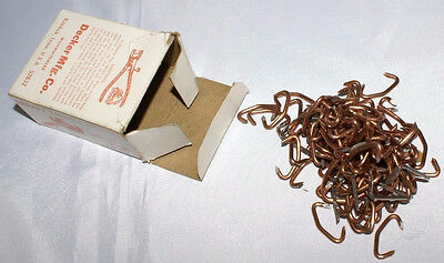 Vintage Decker's hump hill's Pig Rings Hogringers Box