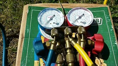 Air Conditioning Manifold And  Gauges-Usa Made