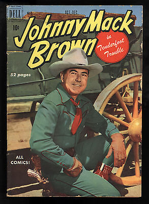 Johnny Mack Brown (1950) #2 1st Print Movie Star Photo Covers Inside & Out VG+
