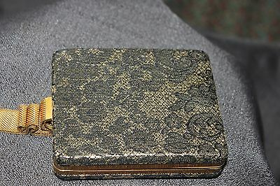 Vintage Vanity Make-Up Purse Carry-All Dance Card Holder-Comb-Compact-Lipstick