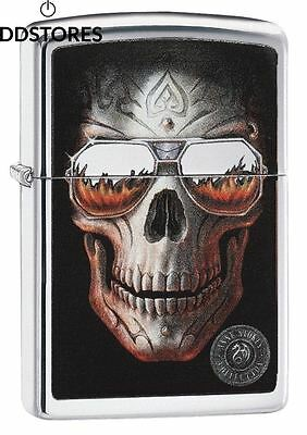 Zippo 60.002.325 Briquet Anne Stokes Collection Spring 2016, brillant chromé
