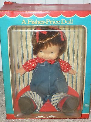 NEW IN BOX 1973 Fisher-Price LAPSITTER Doll 203 AUDREY