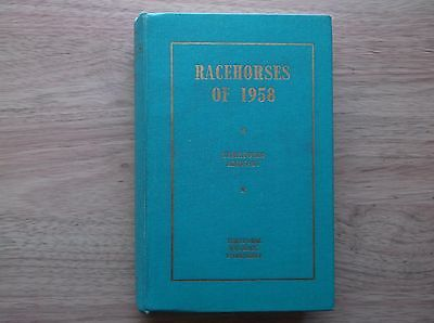"Timeform ""racehorses Of 1958"" In Almost Mint Condition"