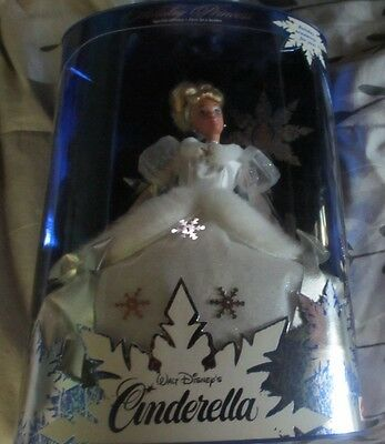 Unopened 1996 Mattel HOLIDAY PRINCESS 1st in Series CINDERELLA Doll In Package