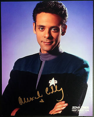 Autogramm 20x25cm ALEXANDER SIDDIG (Star Trek, Game of Thrones) handsigniert COA
