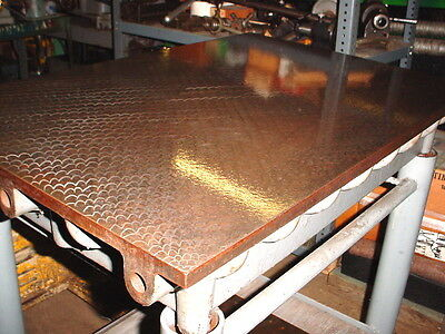 "STEEL 24"" x 36"" Hand Scraped Surface Plate USA ribbed for stability / strength"