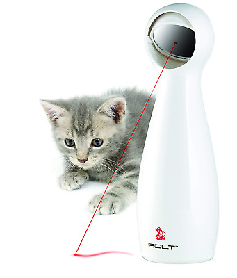 NEW FroliCat BOLT Interactive Automatic Laser Light Pointer Pet Cat Exercise Toy