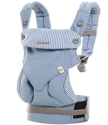 BRAND NEW  Ergo 360 baby Four Position Breathable Baby Carrier color Azure