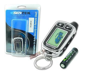 Scytek T5-2W-C 5-Button 2-WAY Replacement LCD Remote for GALAXY 5000RS-2W-1