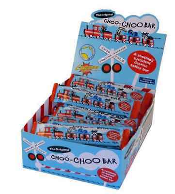 Choo-Choo Bars - licorice(50 x 20g bars in a Display unit)