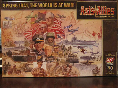 Axis & Allies Anniversary Edition (2008) (OOP, Brand New, and Sealed)